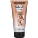 Sally Hansen Airbrush Sun Self - Tanning Lotion For Body And Face Color 01 Light to Medium (Up to 7 Days, Streak-Free, Stain-Free, No Self-Tanner Odor) 175 ml
