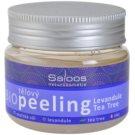 Saloos Bio Peeling Körperpeeling Lavendel und Teebaum  140 ml