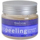 Saloos Bio Peeling exfoliant corp lavanda si arbore de ceai  140 ml