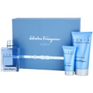 Salvatore Ferragamo Acqua Essenziale set cadou V. Apa de Toaleta 100 ml + After Shave Balsam 50 ml + Gel de dus 150 ml