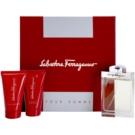 Salvatore Ferragamo Pour Homme dárková sada II. toaletní voda 100 ml + voda po holení 75 ml + sprchový gel 75 ml