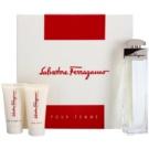 Salvatore Ferragamo Pour Femme lote de regalo I. eau de parfum 100 ml + crema corporal 50 ml + gel de ducha 50 ml
