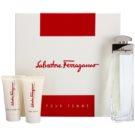 Salvatore Ferragamo Pour Femme darčeková sada I. parfémovaná voda 100 ml + telové mlieko 50 ml + sprchový gel 50 ml