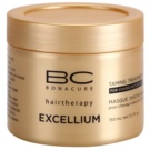 Schwarzkopf Professional BC Bonacure Excellium Taming Mask for Coarse Mature Hair (Exclusive Age-Defying Formula Combining Q10+ and Omega 3) 150 ml