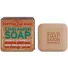 Scottish Fine Soaps Cinnamon luxusné mydlo v plechovej dóze 100 g