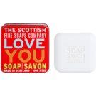 Scottish Fine Soaps Love You Sabão luxuoso em frasco de estanho  100 g