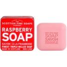 Scottish Fine Soaps Raspberry Sabão luxuoso em frasco de estanho 100 g