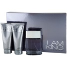 Sean John I Am King set cadou II. Apa de Toaleta 100 ml + Gel de dus 100 ml + After Shave Balsam 100 ml