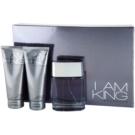 Sean John I Am King Gift Set II.  Eau De Toilette 100 ml + Shower Gel 100 ml + Aftershave Balm 100 ml