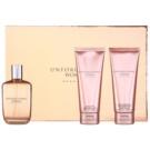 Sean John Unforgivable Woman set cadou I. Eau de Parfum 125 ml + Gel de dus 100 ml + Lotiune de corp 100 ml
