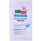 Sebamed Clear Face máscara facial apaziguador com camomilla 2 x 5 ml