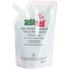 Sebamed Wash jemná umývacia emulzia na telo a tvár náhradná náplň (For Sensitive Skin) 400 ml