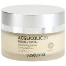 Sesderma Acglicolic 20 Facial crema hranitoare de intinerire uscata si foarte uscata (Nanotech, AHA, 15% Glycolic Acid) 50 ml