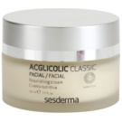Sesderma Acglicolic Classic Facial Nourishing Rejuvenating Cream For Dry To Very Dry Skin (Nanotech, AHA, 8% Glycolic Acid) 50 ml