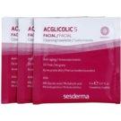 Sesderma Acglicolic S Facial chusteczki pielęgnacyjne do cery tłustej i problematycznej (Nanotech, 8% Glycolic Acid, 1% Salicylic Acid) 14 szt.