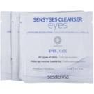 Sesderma Sensyses Cleanser Eyes sminklemosó kendő a szem köré (Nanotech) 14 x 5 ml