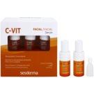 Sesderma C-Vit kettős szérum fiatalító hatással (Pure Vitamin C) 5 x 7 ml