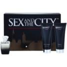 Sex and the City By Night Geschenkset II. Eau de Parfum 100 ml + Duschgel 200 ml + Körperlotion 200 ml