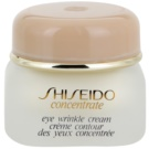 Shiseido Concentrate creme antirrugas para contorno de olhos (Eye Wrinkle Cream) 15 ml