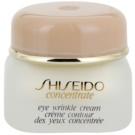 Shiseido Concentrate Anti-Faltencreme für den Augenbereich  15 ml