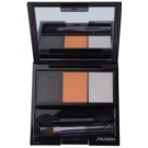 Shiseido Eyes Luminizing Satin Trio Eye Shadow Color OR 302 Fire 3 g