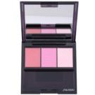 Shiseido Eyes Luminizing Satin trio тіні для повік відтінок PK 403 Boudoir 3 гр