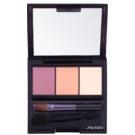 Shiseido Eyes Luminizing Satin trio тіні для повік відтінок RD 299 Beach Grass 3 гр