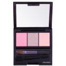 Shiseido Eyes Luminizing Satin trio oční stíny odstín RD 711 Pink Sands 3 g
