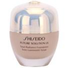 Shiseido Future Solution LX озаряващ фон дьо тен SPF 15 B20 Natural Light Beige  30 мл.