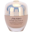 Shiseido Future Solution LX podkład rozjaśniający SPF 15 B40 Natural Fair Beige (Total Radiance Foundation) 30 ml
