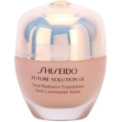 Shiseido Future Solution LX rozjasňující make-up SPF 15 I20 Natural Light Ivory  30 ml