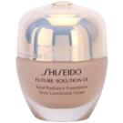 Shiseido Future Solution LX maquillaje con efecto iluminador  SPF 15 I40 Natural Fair Ivory (Total Radiance Foundation) 30 ml