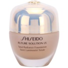 Shiseido Future Solution LX posvetlitvena podlaga SPF 15 I60 Natural Deep Ivory (Total Radiance Foundation) 30 ml