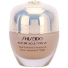 Shiseido Future Solution LX podkład rozjaśniający SPF 15 I60 Natural Deep Ivory (Total Radiance Foundation) 30 ml