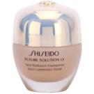 Shiseido Future Solution LX maquillaje con efecto iluminador  SPF 15 I60 Natural Deep Ivory (Total Radiance Foundation) 30 ml