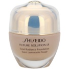 Shiseido Future Solution LX élénkítő make-up SPF 15 O40 Natural Fair Ochre (Total Radiance Foundation) 30 ml
