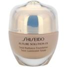 Shiseido Future Solution LX maquillaje con efecto iluminador  SPF 15 O40 Natural Fair Ochre (Total Radiance Foundation) 30 ml