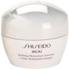 Shiseido Ibuki заспокоюючий та зволожуючий крем для розгладження шкіри та звуження пор  50 мл