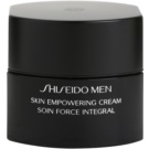 Shiseido Men Total Age-Defense crema restauradora para pieles cansadas (Skin Empowering Cream) 50 ml
