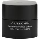 Shiseido Men Total Age-Defense krem wzmacniający do cery zmęczonej  50 ml