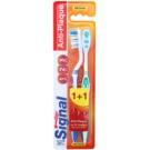 Signal Anti-Plaque Medium Toothbrushes 2 pcs   cap