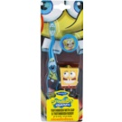 SmileGuard SpongeBob Kids' Toothbrush with Travel Cap and Key Ring Soft Blue (Ages 3+)