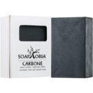 Soaphoria Carbone почистващ сапун   110 гр.