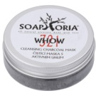 Soaphoria Organic  Cleansing Mask in Powder with Activated Charcoal 321 WHOW (100% Organic, For Problematic Skin) 50 ml