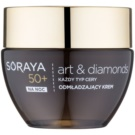 Soraya Art & Diamonds omlazující noční krém s diamantovým práškem 50+ (With Intelligent Blocker Aging) 50 ml