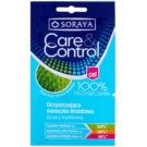 Soraya Care & Control очищаюча маска для обличчя проти акне  2 x 5 мл