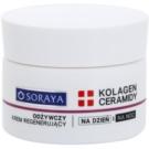 Soraya Collagen & Ceramides подхранващ регенериращ крем с масло от шеа  50 мл.