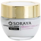 Soraya Collagen Mesostimulation feszesítő éjszakai krém a ráncok ellen 50+  50 ml