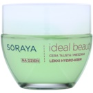 Soraya Ideal Beauty crema hidratante ligera  para pieles mixtas y grasas (Hydro Block Complex and Hyaluronic Acid) 50 ml