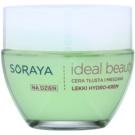 Soraya Ideal Beauty lekki krem nawilżający do skóry tłustej i mieszanej  50 ml